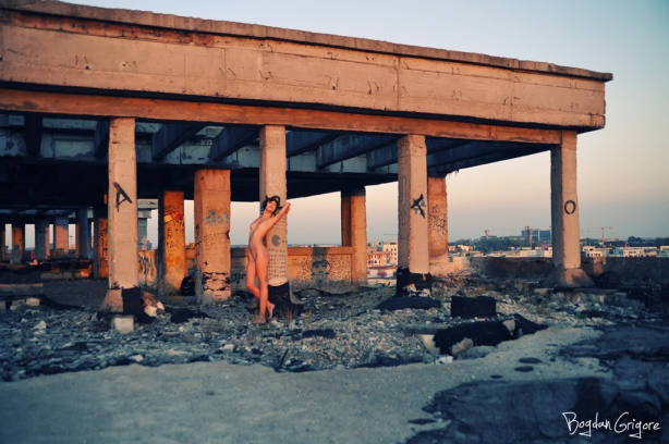Bogdan Grigore - Artistic Nudes - Columns