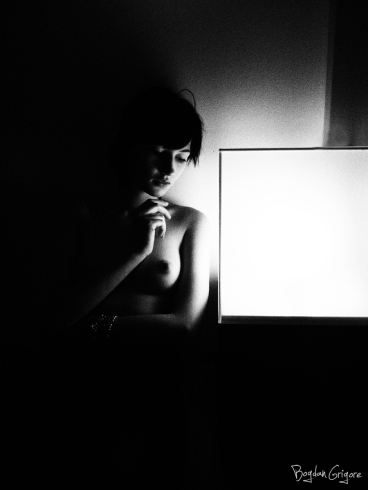 nuduri artistice - cand sunt singura