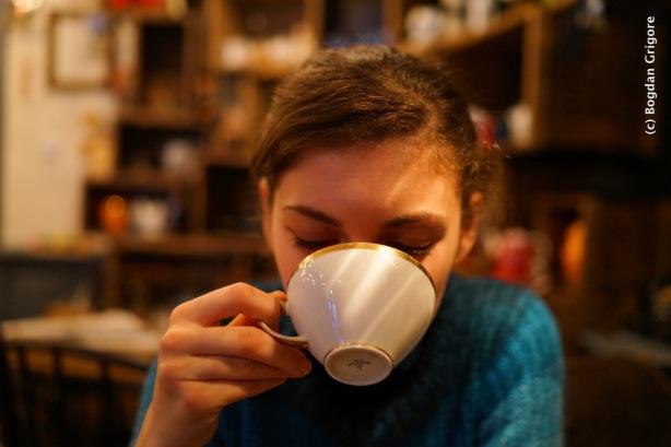 Bogdan Grigore - Portrete artistice - ceasca de cafea