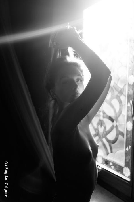 Bogdan Grigore - nuduri artistice - Denisa - portret artistic