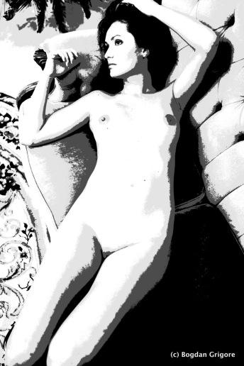 Bogdan Grigore - Nuduri artistice - La inceput